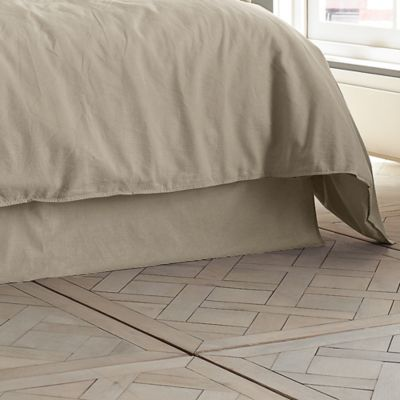 Kenneth Cole Reaction Home Mineral Full Bed Skirt in Oatmeal