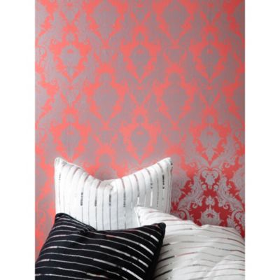 Tempaper® Double Roll Removable Wallpaper in Damsel Coral