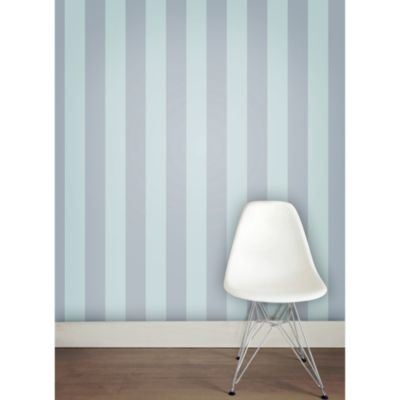 Tempaper® Double Roll Removable Wallpaper in Stripe Blue