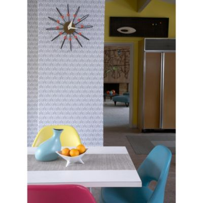 Tempaper® Double Roll Removable Wallpaper in Gio Silver