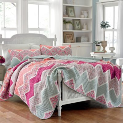 Laura Ashley® Ainsley King Quilt