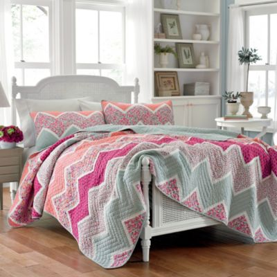 Laura Ashley® Ainsley Twin Quilt