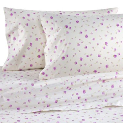 Bellino Fine Linens® Violetta King Fitted Sheet