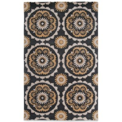 B. Smith Mosaic 9-Foot x 13-Foot Rug in Flax Seed