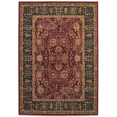 Couristan® Cypress Garden 4-Foot 6-Inch x 6-Foot 9-Inch Rug in Persian Red
