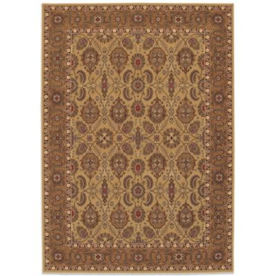 Couristan® All Over Vase 6-Foot 6-Inch x 9-Foot 10-Inch Rug in Hazelnut