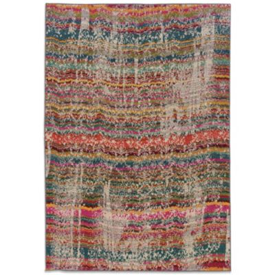 Oriental Weavers Kaleidescope 5-Foot 3-Inch x 7-Foot 6-Inch Contemporary Rug in Multicolor
