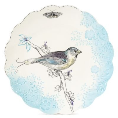 Edie Rose by Rachel Bilson Bloom Bird Accent Salad Plate