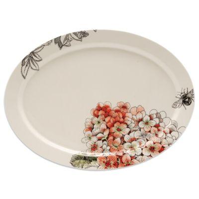 Edie Rose by Rachel Bilson Hydrangea Large Oval Platter