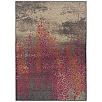 Oriental Weavers Kaleidescope Contemporary Rug in Gray/Pink