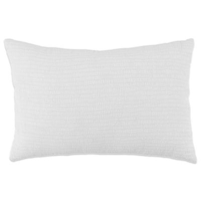 Anthology™ Tyler Oblong Throw Pillow in White