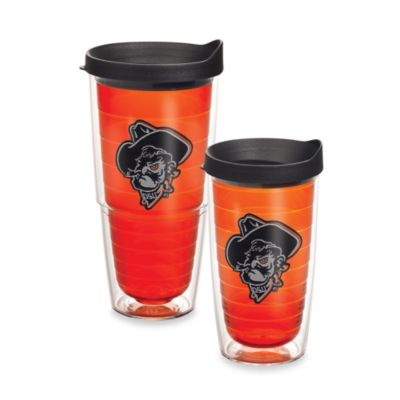 Tervis® Oklahoma State University Shadow Pete Emblem 24 oz. Tumbler in Citrine with Lid