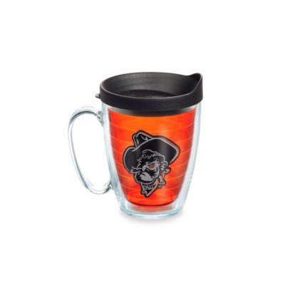 Tervis® Oklahoma State University Citrine Shadow Pete 15 oz. Mug with Lid