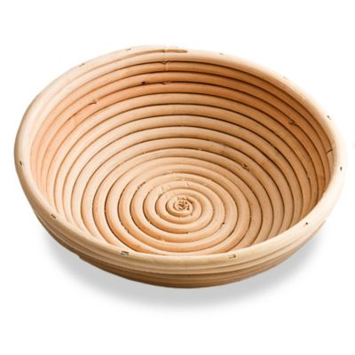 Frieling 8-Inch Round Brotform Dough-Rising Bread Basket