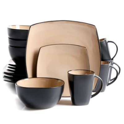 Gibson Home Amalfi 16-Piece Dinnerware Set