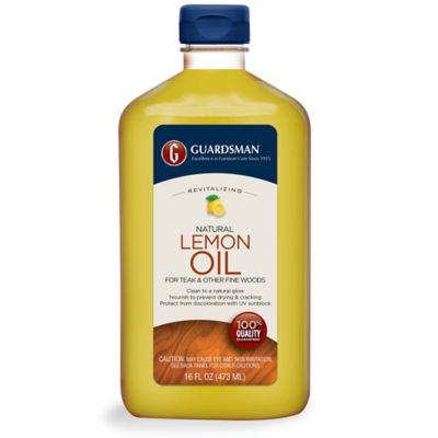 Guardsman® 16 oz. Revitalizing Lemon Oil with UV Protection