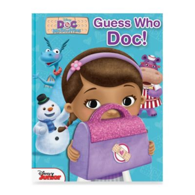 Disney Doc McStuffins Guess Who, Doc! Hardcover Picture Book