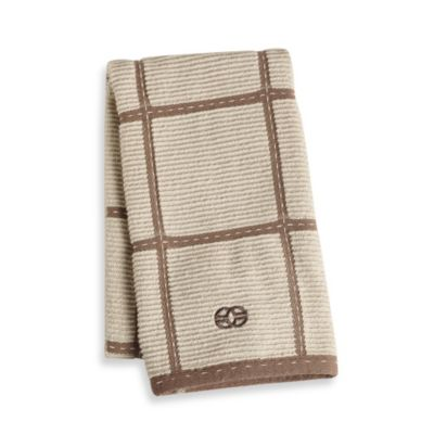 Calphalon® Kitchen Towel in Pecan Plaid