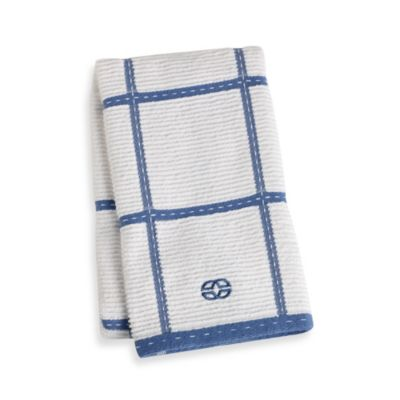 Calphalon Plaid Kitchen Towel in Blueberry