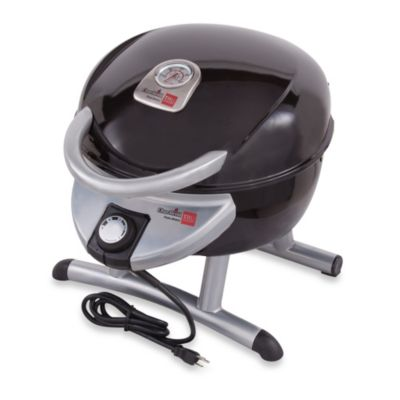 Char-Broil TRU-Infrared Electric Table Top Bistro Grill 180 in Black/Silver
