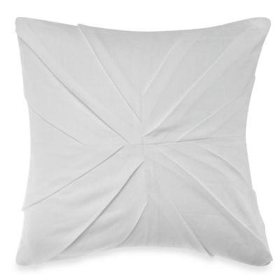 Wamsutta® Beekman Pleated Square Throw Pillow