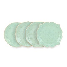 Lenox® French Perle Accent Plates in Ice Blue (Set of 4)