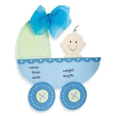 Mud Pie® Stroller Door Hanger in Blue