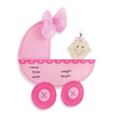 Mud Pie® Stroller Door Hanger in Pink
