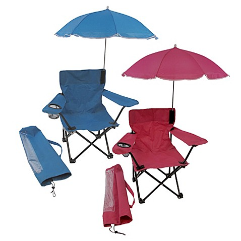Kids Camp Chair with Umbrella Bed Bath & Beyond