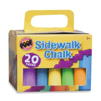 Activity > 20-Piece Sidewalk Chalk Set