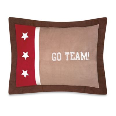 Sweet Jojo Designs All Star Sports Standard Pillow Sham Cover