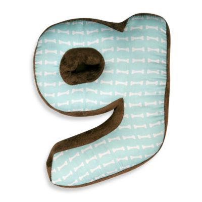 "One Grace Place Puppy Pal Letter ""G"" Pillow"
