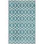 Momeni Baja Indoor/Outdoor Rug in Blue