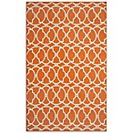 Momeni Baja Indoor/Outdoor Rug in Orange
