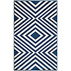 Momeni Baja Indoor/Outdoor Rug in Navy
