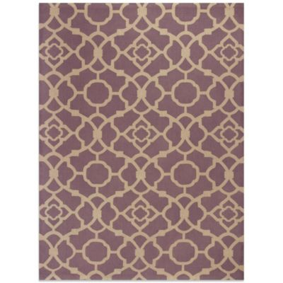 KAS® Natura Athena 7-Foot 6-Inch x 10-Foot Rug in Purple