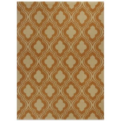 KAS Natura 2-Foot 3-Inch x 3-Foot 9-Inch Rania Area Rug in Rust