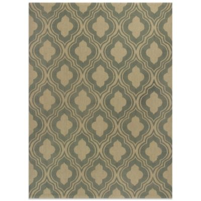 KAS 7 Green Area Rug