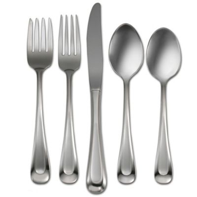 Oneida® Satin Sand Dune 45-Piece Flatware Set