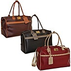 Adrienne Vittadini 18-Inch Pebble Grain Carry On Duffle Bag