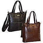 Adrienne Vittadini Laptop Tote in Black