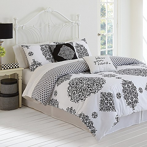 Buy Jessica Simpson Charlotte King Comforter Set From Bed Bath Amp Beyond