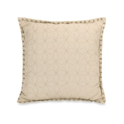 Jessica Simpson Elise Paisley Quilted Square Throw Pillow