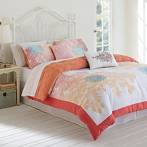 Buy Jessica Simpson Sherbet Lace Comforter Set From Bed Bath Amp Beyond