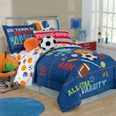 All Sports Twin Sheet Set