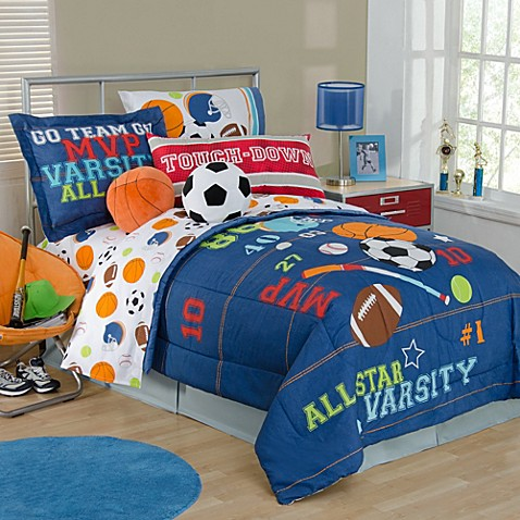All Sports Bedding Collection Bed Bath Amp Beyond