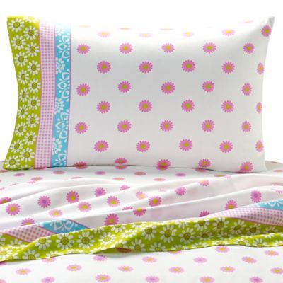 Patchwork Twin Sheet Set