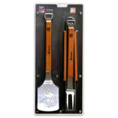 NFL Minnesota Vikings 3-Piece Sportula BBQ Set