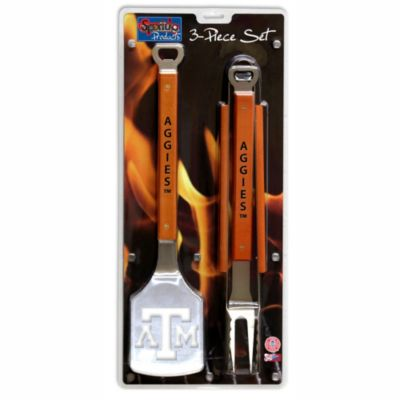 Texas A&M Aggies 3-Piece Sportula BBQ Set