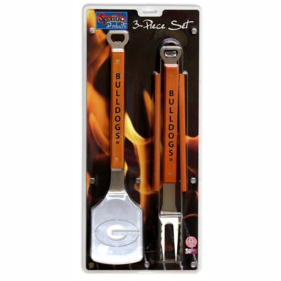 Georgia Bulldogs 3-Piece Sportula BBQ Set